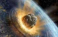 Asteroid hittig earth