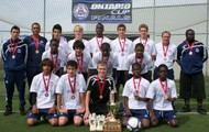 Elite Division and Ontario Cup Champions 2012