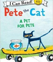 Pete the Cat: a Pet for Pete by James Dean