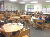 First graders are soaring with reading and AR testing!