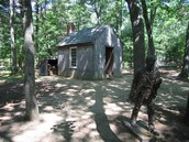 The Cabin Where Henry David Thoreau Stayed