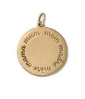 "Round ""Mom"" - Italian bronze"