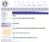Eesti keele teise keelena õpetajate liidu kodulehekülg