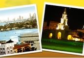 Homenaje a los monumentos historicos de Cartagena