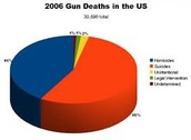 More than 40% are homicides