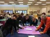 Our terrific staff learning about questioning strategies on Monday.