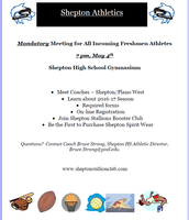 Shepton manditory meeting flyer