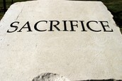 Word of the Week - SACRIFICE