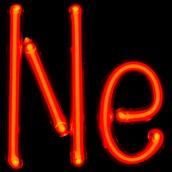 This is the symbol of neon on the periodic table