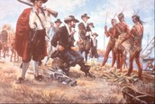 Europeans Step On Native Land