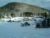 No snow in your backyard?  That's because it's all at Willard Mountain!