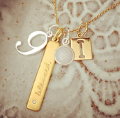 Personal Charm Necklaces