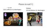Places to eat in Washington, Iowa