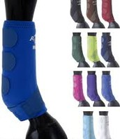 Horse leg protection boots