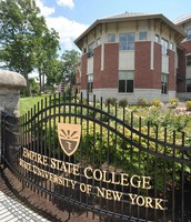 Main gates of SUNY Empire State College.