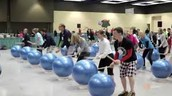 Drumfit on Tuesday during Faculty Meeting