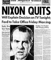 Nixons Resignation