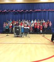 Great Job 3rd Grade and Melissa!