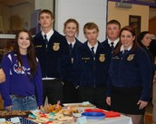 FFA Members and Student Council Members