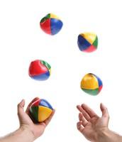 I'm still learning  Juggling! ;)