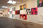 """Andy Warhol Portraits"""