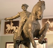 statue of Paul on his midnight ride