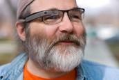 Men Wearing Google Glass
