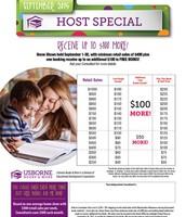 September Hostess Special
