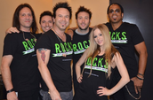 Avril Lavigne's band