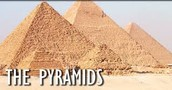 What were the pyramids built?