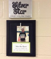 PBIS Silver Star Award - Coach Geurkink