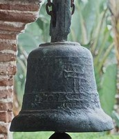 The mission bell of San Luis Rey de Francia