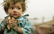 think about these starving children when you waste