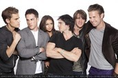 With costars of Vampire Diaries
