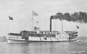 Steamboat Sinking