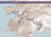 The race route in Alaska.