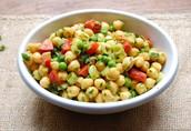 Vegan Option:  Chickpea Salad