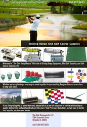 Golf Course and Driving Range Equipment