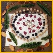 Kindergarten Goldsworthy-inspired Creation