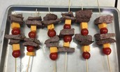 Hamburger Brochettes