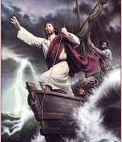Jesus Calming the Storm!