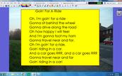 Grade 1 Song