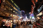 Nightlife & Shopper's Paradise