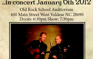 Dailey & Vincent January 4th at 7pm