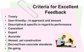Is marking frequent, provides constructive feedback and leads to high engagement and progress over time?