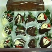 Assorted strawberries