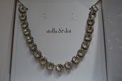 Vintage Crystal Necklace - SOLD