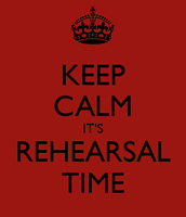 This Week's Marching Band Rehearsal Schedule