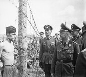 soldiers in concentration camp