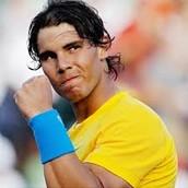 9º Rafa Nadal Joueur de tenis